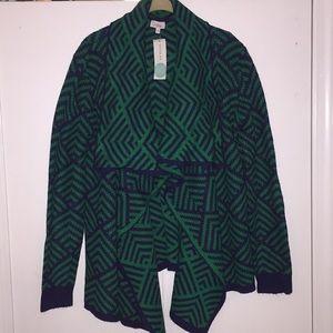 Dali open drape cardigan - New with tags!!
